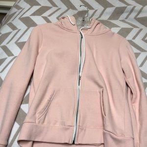 Jackets & Blazers - Pink fuzzy jacket